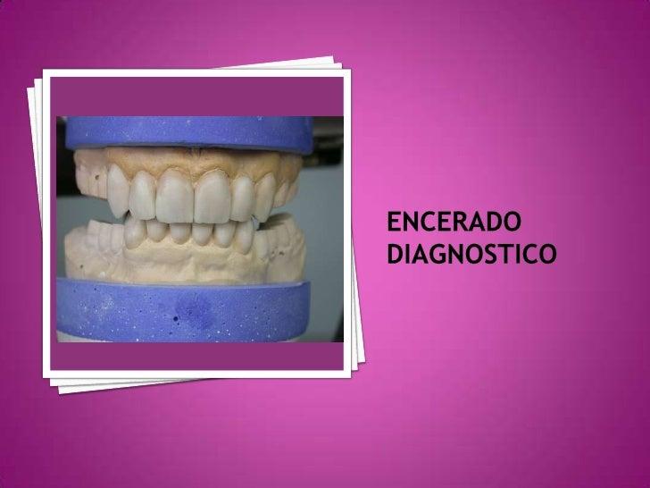 ENCERADO DIAGNOSTICO<br />