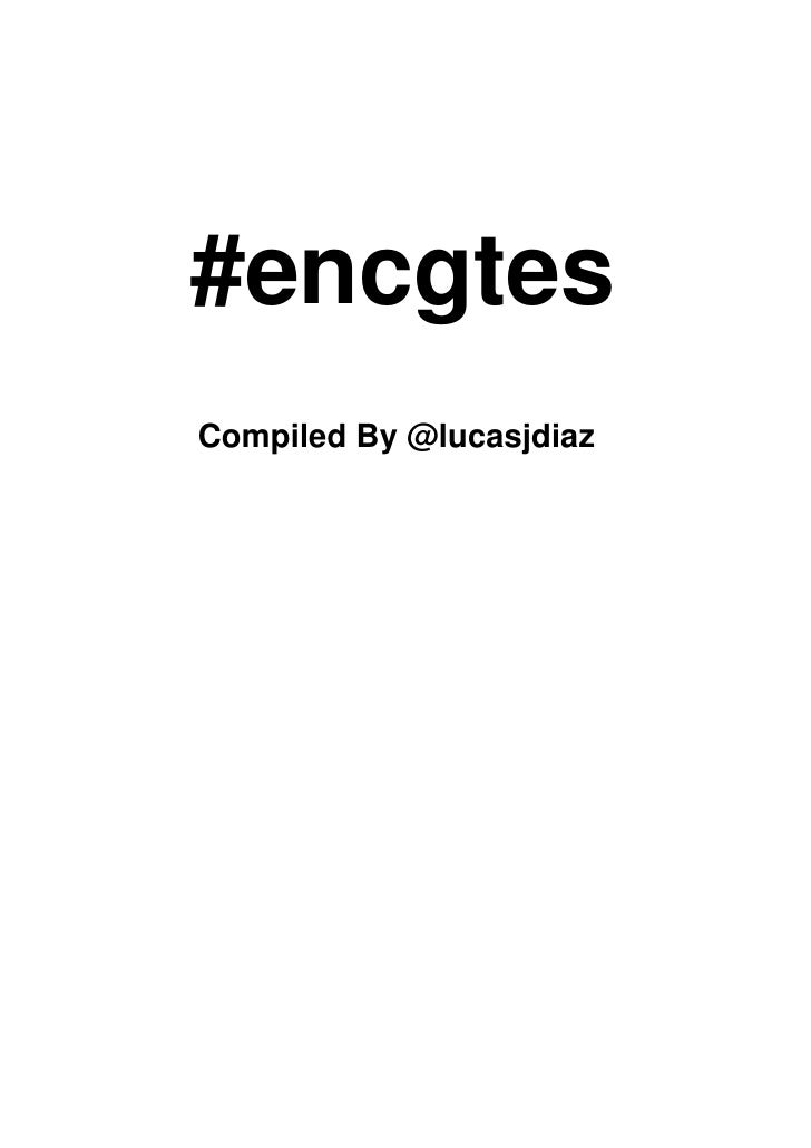 #encgtes Compiled By @lucasjdiaz