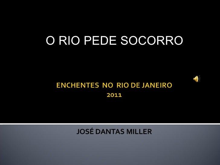 O RIO PEDE SOCORRO