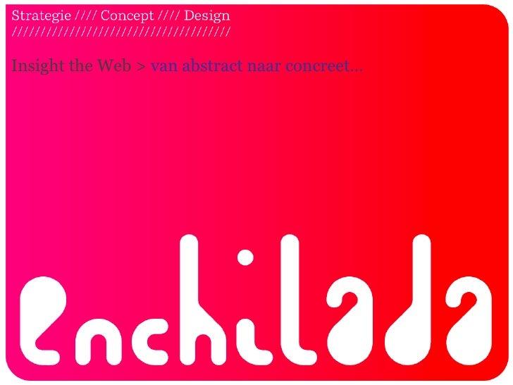 Insight the Web > van abstract naar concreet…<br />
