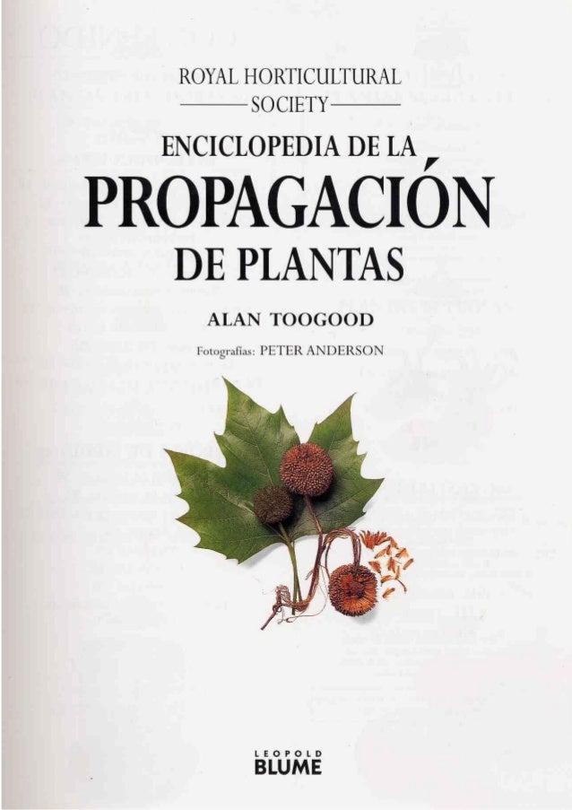 Propagacion asexual de plantas libro