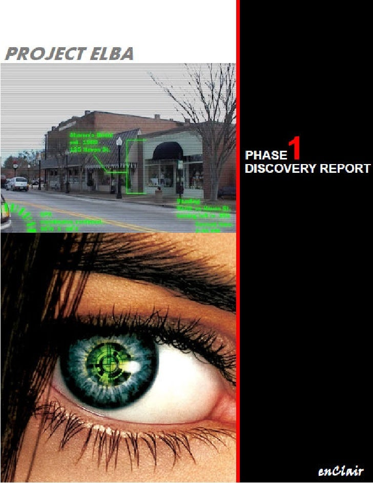 Project Elba: Discovery Phase   0