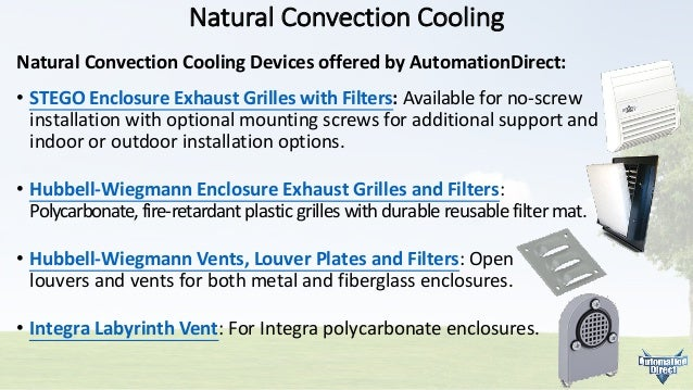 Enclosure Thermal Management: Product Types and Selection