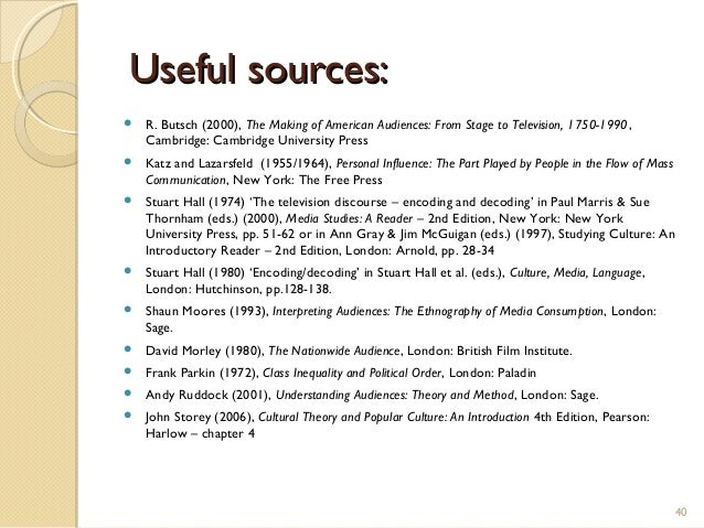 is halls encoding decoding model still useful media essay Introduction to media studies  if you are still unsatisfied with your grade  key terms: active audience interpretation polysemy encoding-decoding model.