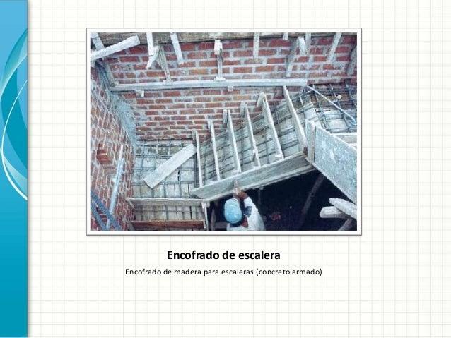 Encofrado met lico for Encofrado de escaleras de concreto