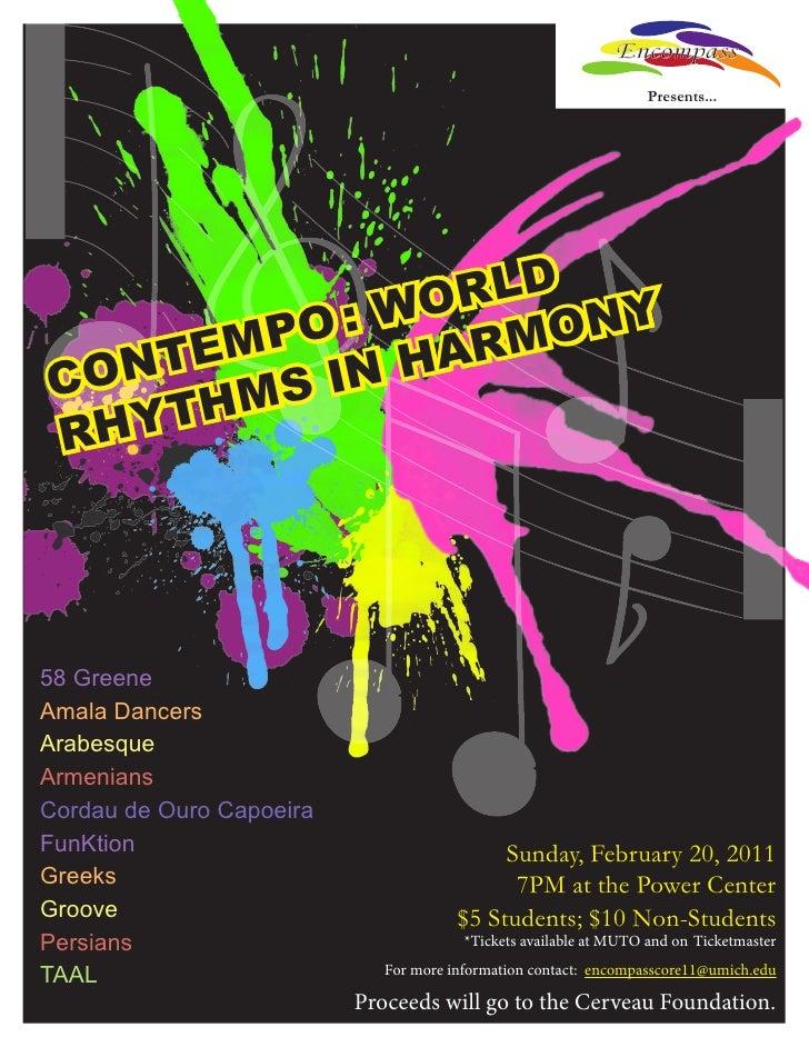 Encompass                                                                   Presents...             WO RLD Y        PO :  ...