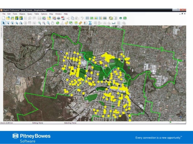 MapInfo Professional 12 5 and Discover3D 2014 - A brief overview