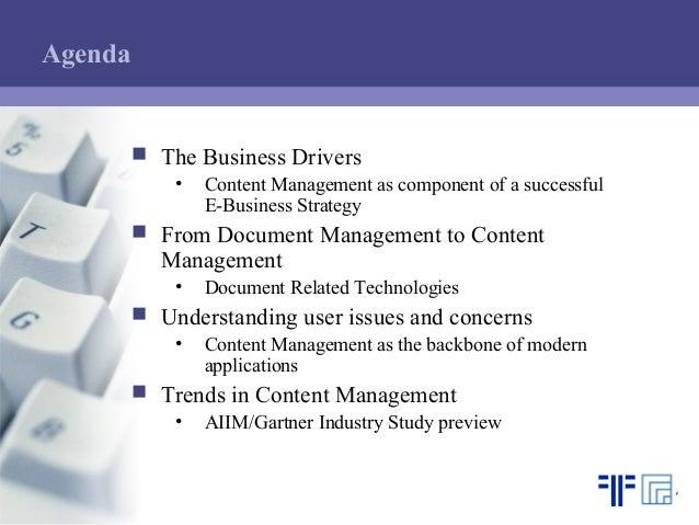 [EN] Content Management   Ulrich Kampffmeyer   Marcus Evans Conference   Berlin 30.05.2001 Slide 2