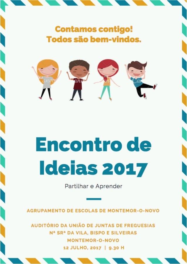 Encontro.ideias.cartaz
