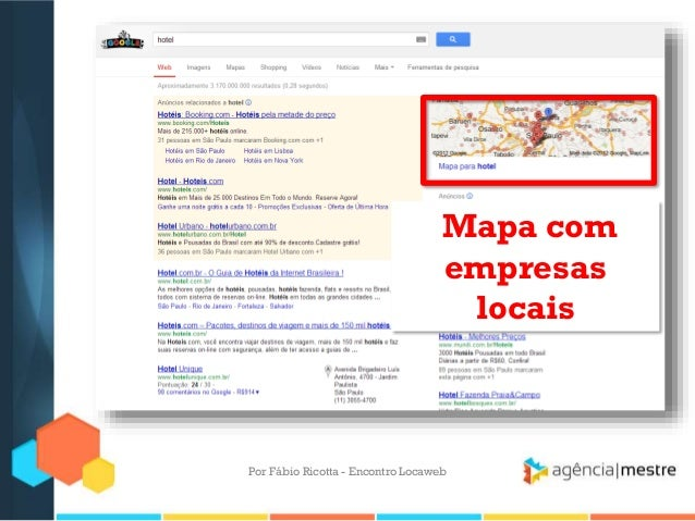 Mapa comempresaslocaisPor Fábio Ricotta - Encontro Locaweb