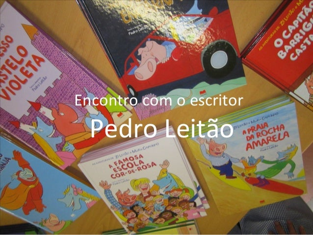 Encontro com o escritor Pedro Leitão