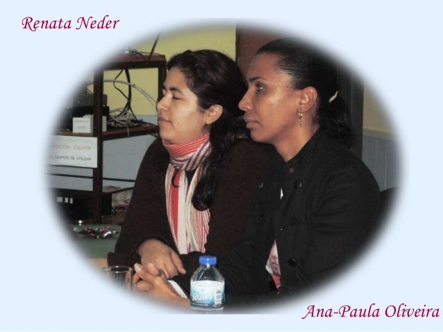 Encontro con Ana-Paula Oliveira e Renata Neder Slide 2