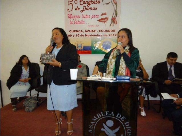 Encontro de mulheres em Cuenca-Equador