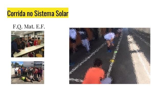 Corrida no Sistema Solar F.Q. Mat. E.F.