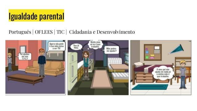 Igualdade parental Português | OFLEES | TIC | Cidadania e Desenvolvimento