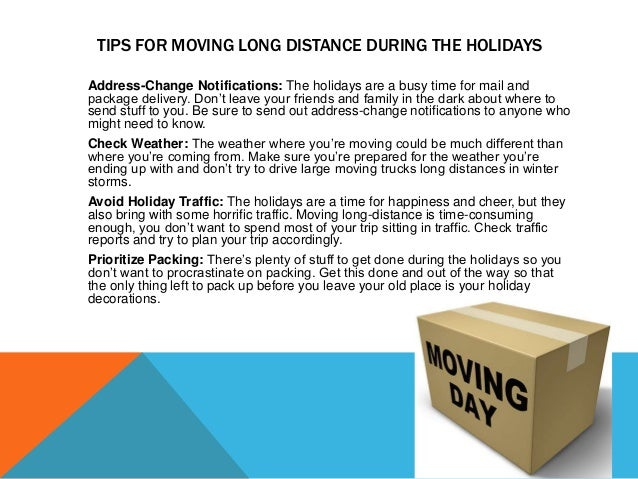 REASONS TO HIRE A MOVING COMPANY DURING THE HOLIDAY SEASON More Family Time: The holidays are meant to spent with loved on...