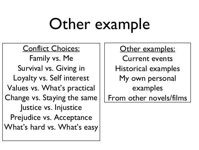 prejudice essay examples