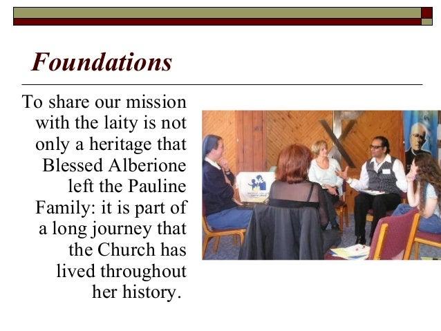 Lay Vocation and Mission: Rerum Novarum to Evangelii Gaudium & Blessed Alberione Slide 3