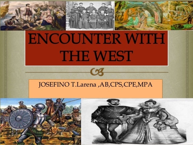 encounter with the west of china