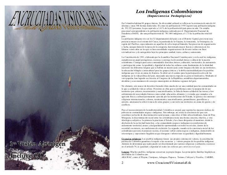 Los Indígenas Colombianos                                                 (Experiencia Pedagógica)                      En...