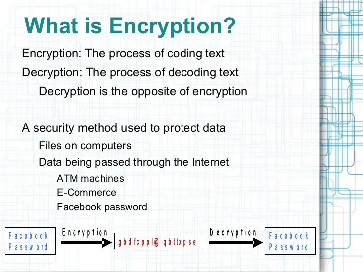 Encryption presentation final