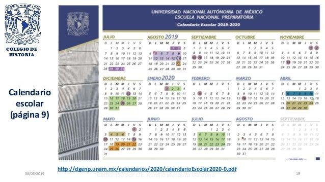Calendario Academico 2020 16.Encuadre Hmii 2019 2020