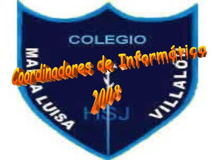 Coordinadores de Informática 2008