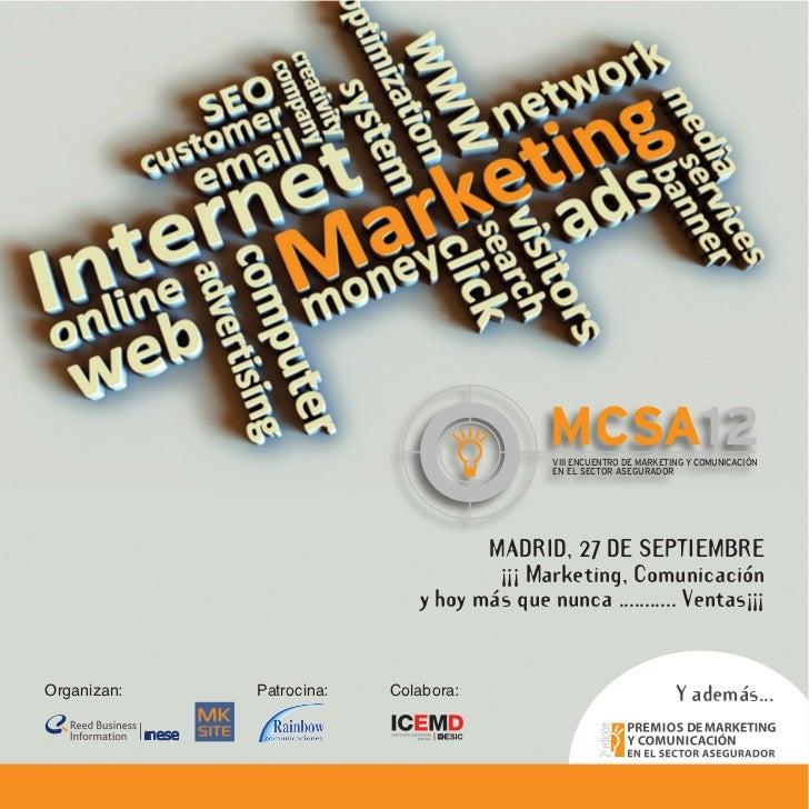 MCSA12                                          VIII ENCUENTRO DE MARKETING Y COMUNICACIÓN                                ...