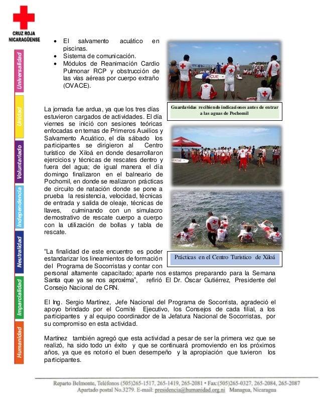 El salvamento acuático en piscinas.  Sistema de comunicación.  Módulos de Reanimación Cardio Pulmonar RCP y obstrucció...