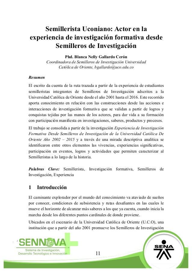 Revista Encuentro SENNOVA