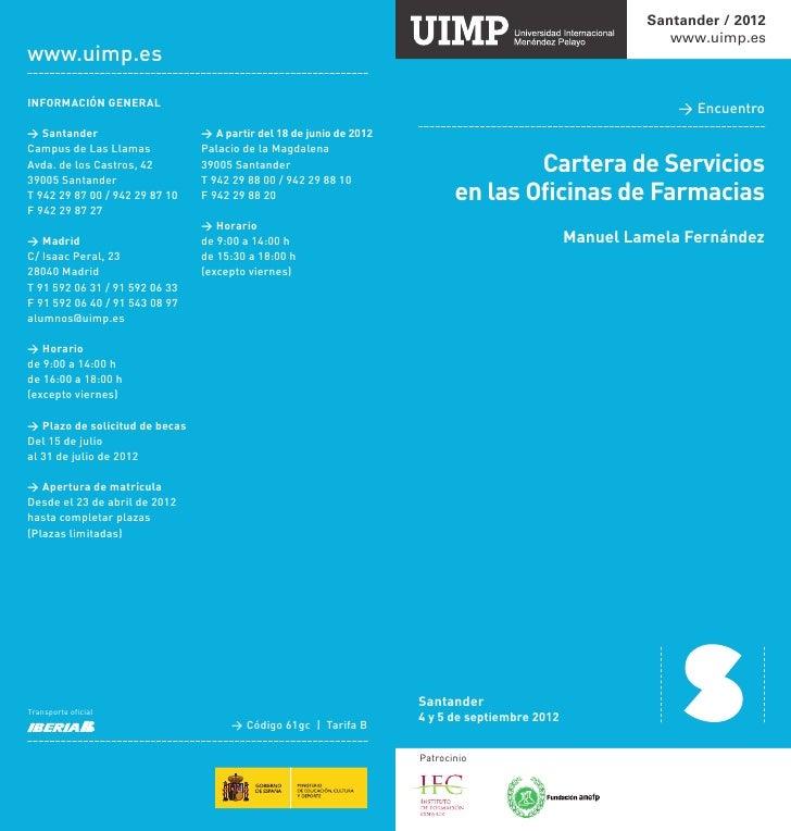 www.uimp.es                                                                                    Cartera de Servicios       ...