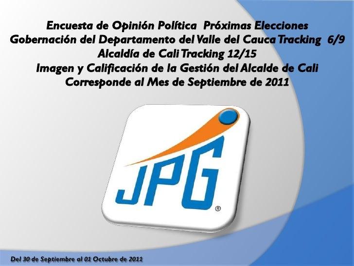 Del 30 de Septiembre al 01 Octubre de 2011