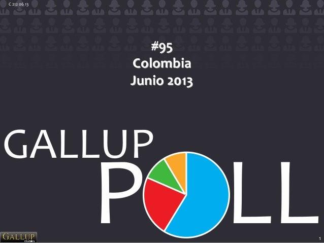 1 C 212 06 13 #95 Colombia Junio 2013
