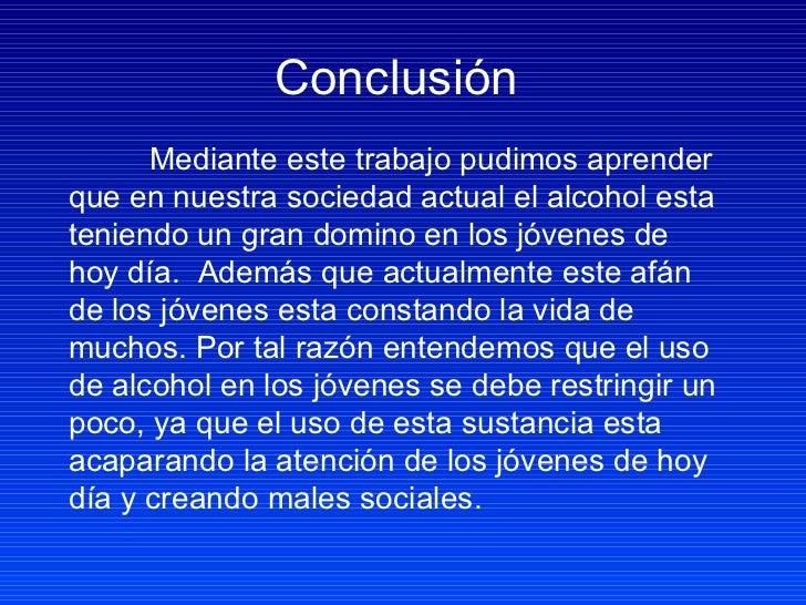Los objetivos de la profiláctica de la dependencia alcohólica