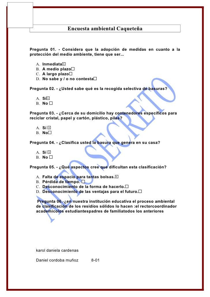 Encuesta ambiental Caqueteña   Pregunta 01. - Considera que la adopción de medidas en cuanto a la protección del medio amb...