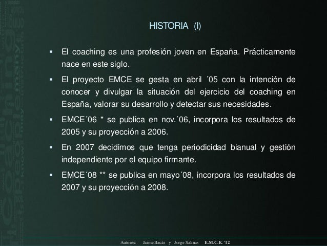 Encuesta anual coaching ejecutivo 2012 Slide 3