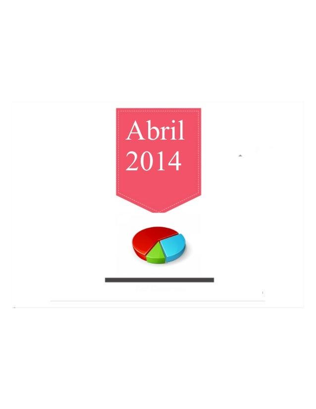Abril 2014 Reporte Julio 2013 Red Crecemos 1