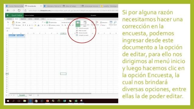 Formularios De Office 365 Y Tablas Dinámicas En Excel