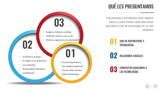 Informe UC Uso de Tecnologías Escolares 2016 Slide 2