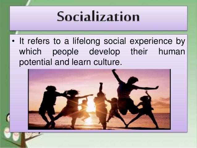 culture and socialisation notes