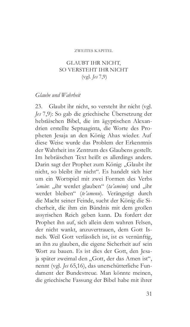 """32 Übersetzung von """"bleiben"""" mit """"verstehen"""" eine tief greifende Änderung am Text vorgenom- men, indem sie von der biblisc..."""