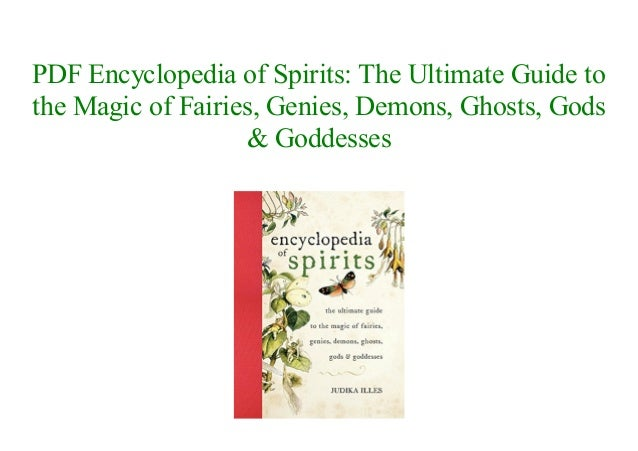 Pdf encyclopedia of spirits