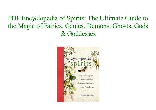 Pdf encyclopedia of spirits