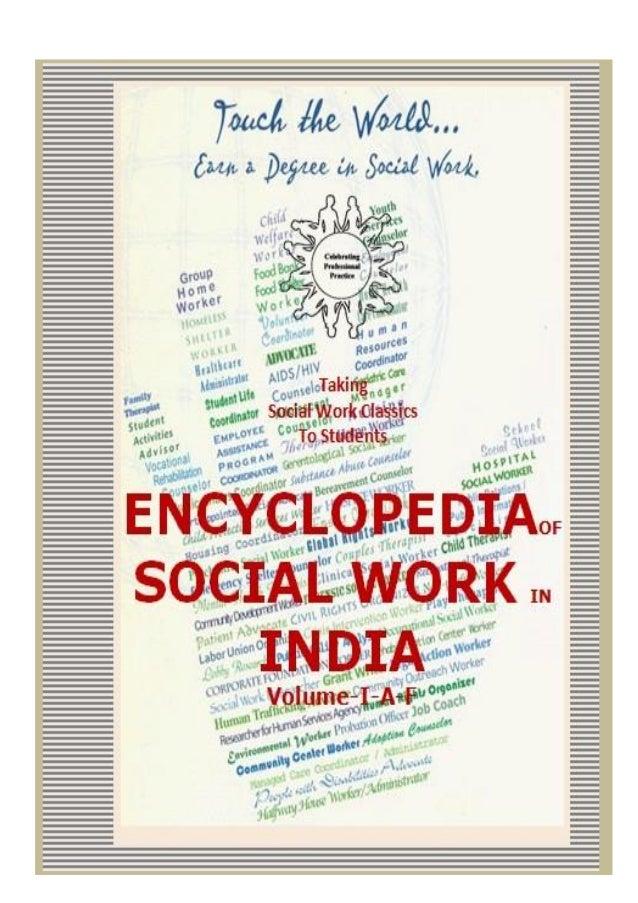 SocialWorkClassics–EncyclopediaofSocialWorkinIndia-1968&1978Volume1 1