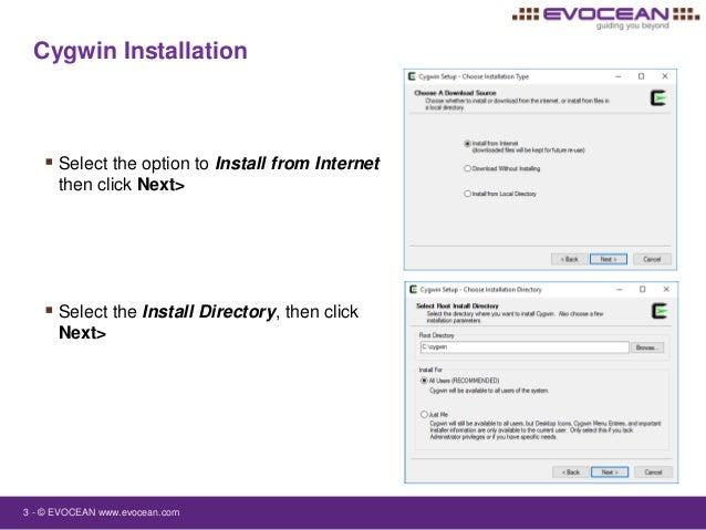 Installing Cygwin for IBM Rational Rhapsody