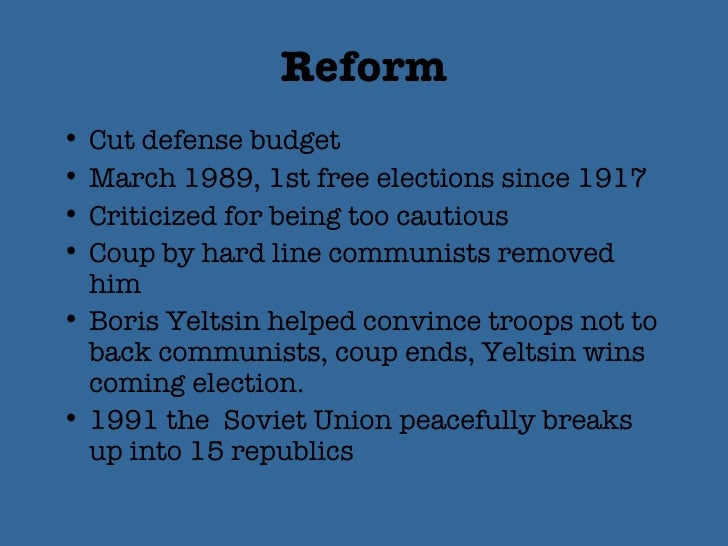 how international affairs contributed to the collapse of communism in eastern europe and the end of  The collapse of communism in the soviet union was another major cause of the  end of apartheid  hand, and the soviet union and eastern bloc countries on the  other  by the end of the 1980s, the soviet union was in political and  been  one the anc's main allies and suppliers - led the organisation to.