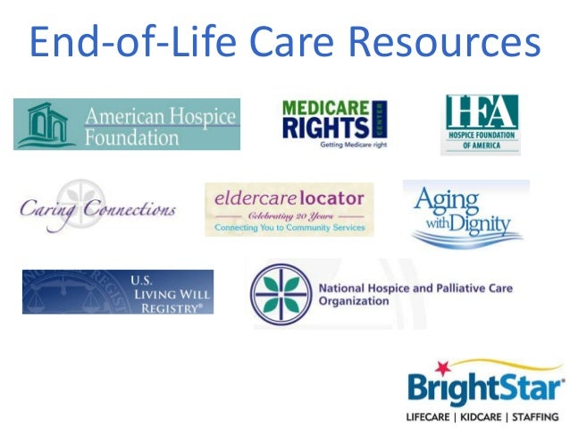 End-of-Life Care Resources