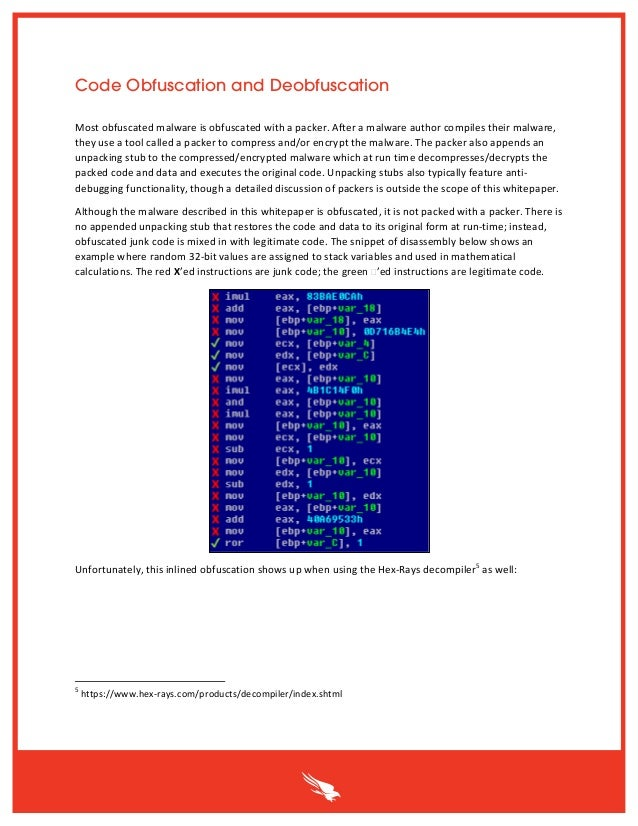 End-to-End Analysis of a Domain Generating Algorithm Malware