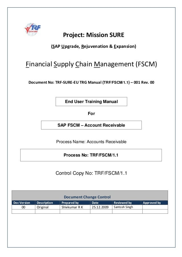 sap fi ar end user guide for beginners rh slideshare net sap user manual for fb08 sap user manual for costing run