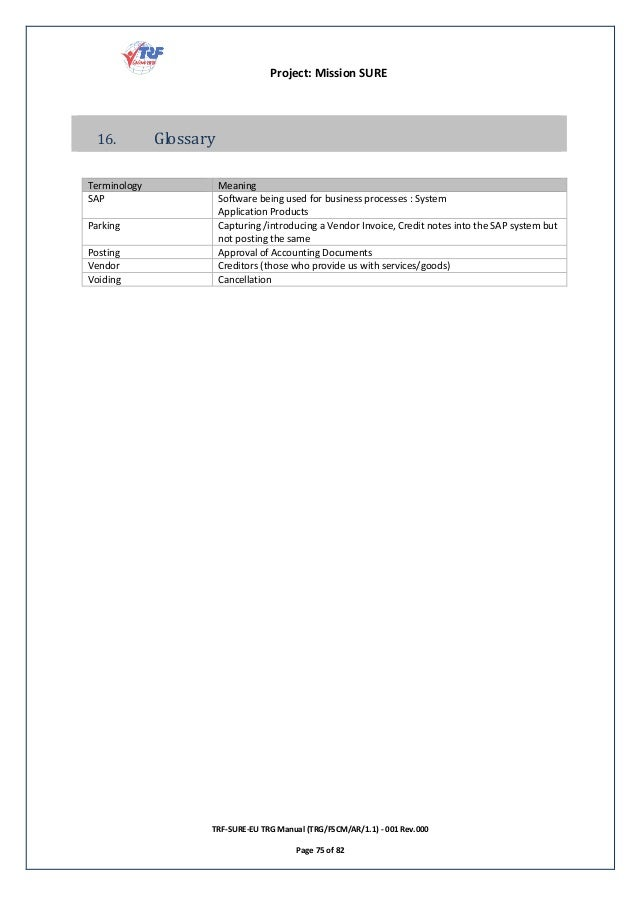 SAP FI AR: End User Guide for Beginners